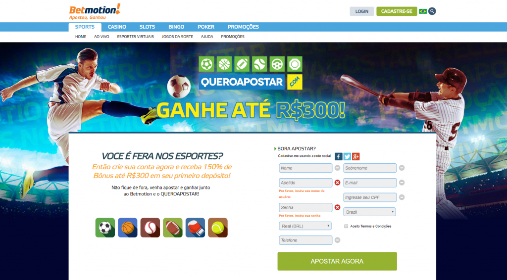 Betmotion 20 online 462277